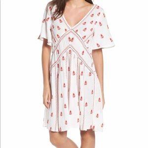 Anthropologie RAGA Embroidered Dress